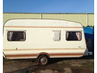 Monza 1400CT 4-berth caravan
