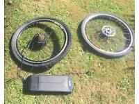 Specialised hard e bike project