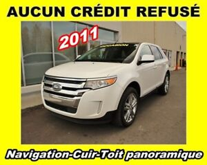2011 Ford Edge Limited Navigation Cuir Toit panoramique