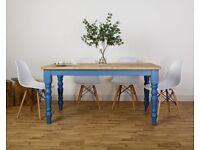 Dining Table All Size/Colours Modern Farmhouse Oak Kitchen