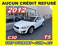 2012 Volvo C30 T5 *Cuir, Mags, Toit ouvrant*