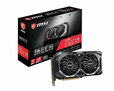MSI Gaming Radeon RX 5700 Xt Mech OC 256-bit 8GB GDDR6 DP/HDMI Graphics Card