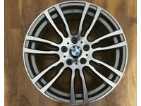 "GENUINE BMW 403M REAR ALLOY WHEEL 19"" MINT CONDITION 403 ALLOYS"