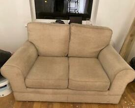 2 x marks and Spencer two seater sofas in beige