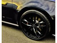 Genuine Audi RS6 alloy wheels and 285/30/21 winter tyres