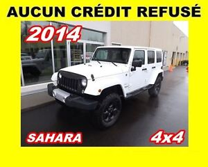 2014 Jeep Wrangler Unlimited Sahara*4x4*2 TOITS*