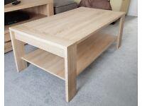Light Oak effect Coffee Table