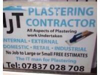 I J T PLASTERING AND RENDERING SPECIALIST
