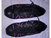 Capezio Hot Pink Web Dance Sneakers - UK Size 7 - £15 (approx. half price)ono