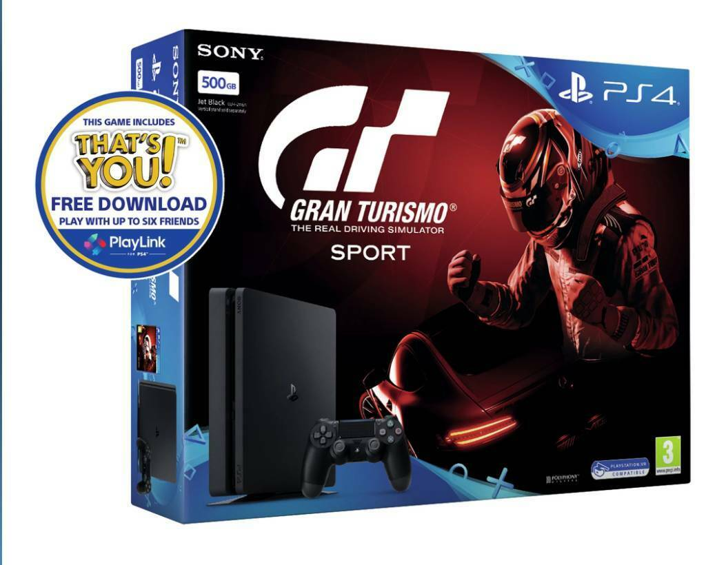 PS4 BRAND 500gb NEW NOT OPENED WITH GAME