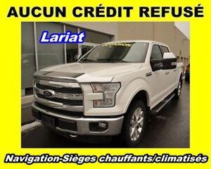 2015 Ford F-150 Lariat * 8 cyl. 5.0L * Crew Cab * Bluetooth * WO