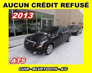 2013 Cadillac ATS **AUCUN CREDIT REFUSE**CUIR**MAGS**