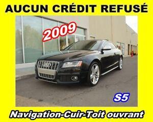 2009 Audi S5 **S5**Navigation**Cuir**Toit ouvrant