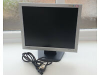 Samsung Syncmaster PC Monitor with Power Lead Fully Working Excellent
