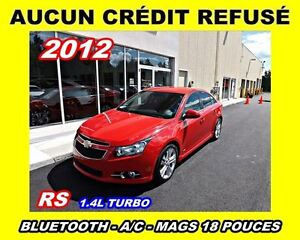 2012 Chevrolet Cruze RS Turbo*MAGS 18 POUCES*