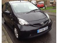 SPECIAL EDITION TOYOTA AYGO BLACK - GREAT CONDITION - NEW CLUTCH - NEW DISCS AND PADS - FSH - MOT!