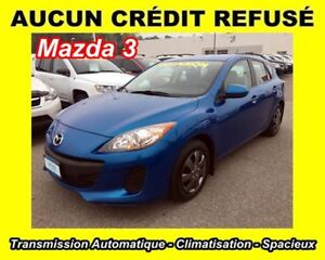 2012 Mazda MAZDA3 GX**4 CYL. 2.0L**CLIM**AUTOMATIQUE**