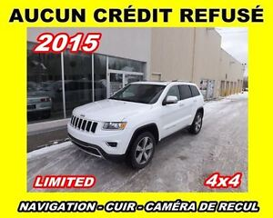 2015 Jeep Grand Cherokee **LIMITED**GPS**TOIT**MAGS 20''