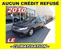 2010 Toyota Camry AUCUN CRÉDIT REFUSÉ**LE*climatisation*