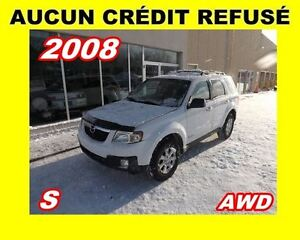 2008 Mazda Tribute **V6**4X4**AUCUN CREDIT REFUSE**