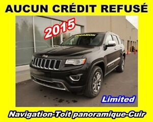 2015 Jeep Grand Cherokee **Limited**Navigation**Toit panoramique
