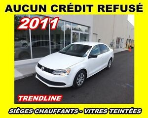 2011 Volkswagen Jetta Trendline*AUCUN CRÉDIT REFUSÉ*