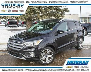 2017 Ford Escape Titanium *4WD *Turbo *Leather *Sirius XM
