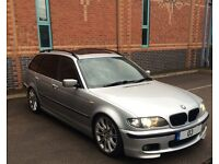 E46 BMW 330d Factory M Sport Touring 2003 204bhp Rare Sunroof Model