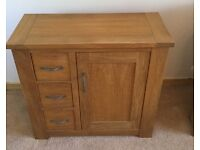 Next Cambridge Oak Mini Sideboard