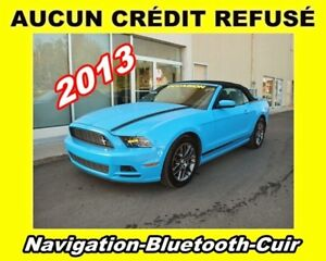 2013 Ford Mustang V6 Premium**Navigation**Bluetooth**Cuir