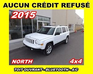 2015 Jeep Patriot **Toit ouvrant,4x4,Mags**North Edition**