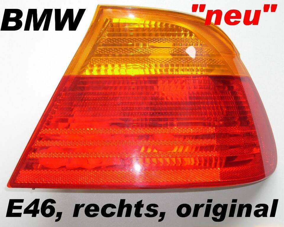 BMW E46 3er Rücklicht rechts original BMW: 63218375802 - #482 NEU in Saarland - Heusweiler