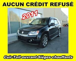 2011 Suzuki Grand Vitara **Cuir**Toit ouvrant**Sièges chauffants