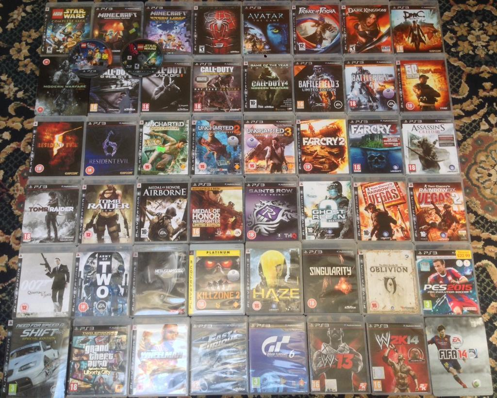 New Playstation 3 Games : Playstation ps games for £ gta cod ghosts aw