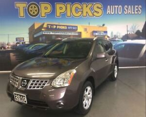 2010 Nissan Rogue SL, AWD, LEATHER, SUNROOF, ALLOYS!