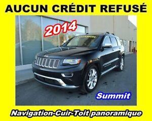 2014 Jeep Grand Cherokee * DIESEL * SUMMIT * GPS * CUIR * TOIT P