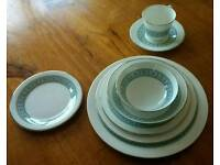 Royal Doulton counterpoint 12 piece dinner service.