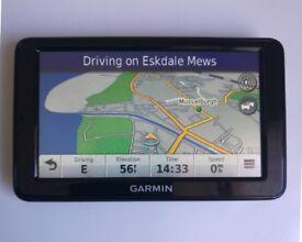 "5"" GARMIN Nuvi 2515T GPS Sat Nav UK & Ireland + Iceland - Traffic, Bluetooth (no offers, please)"