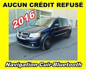 2016 Dodge Grand Caravan **Crew**Navigation**Cuir**Bluetooth