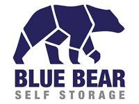 BLUE BEAR SELF STORAGE (First 8 weeks half price)