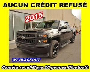 2015 Chevrolet Silverado 1500 BLACKOUT ROUES 20 PO 4X4 5.3L *BLU