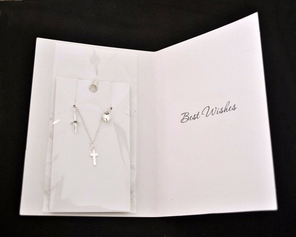 Christmas Gift for Girls/Womens Silver 925 Fine Necklace with Lovely Card Included