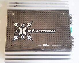 XTREME CAR AMP 2300 X 300 WATT 2 CHANNEL