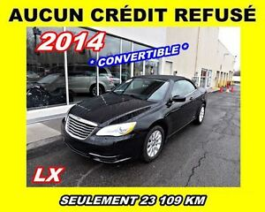 2014 Chrysler 200 ***AUCUN CREDIT REFUSE***