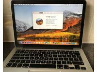 2014 Apple Macbook Pro Retina 1502 13 inch i5 2.66GHz 8GB 120Gb ssd recently service Office laptop