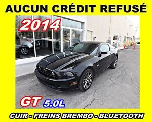 2014 Ford Mustang **GT**Freins Brembo**Aucun Credit Refuse