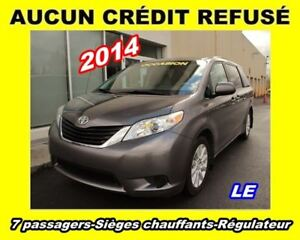 2014 Toyota Sienna LE 7 Passagers **AWD**6 CYL. 3.5L**A/C**