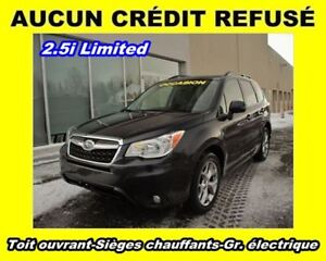 2015 Subaru Forester AWD TOIT OUVRANT *2.5i Limited*