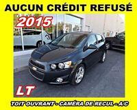 2015 Chevrolet Sonic AUCUN CRÉDIT REFUSÉ**LT*toit ouvrant,caméra