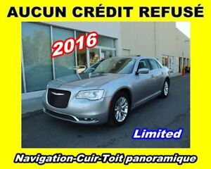 2016 Chrysler 300 **Limited**Navigation**Cuir**Toit panoramique
